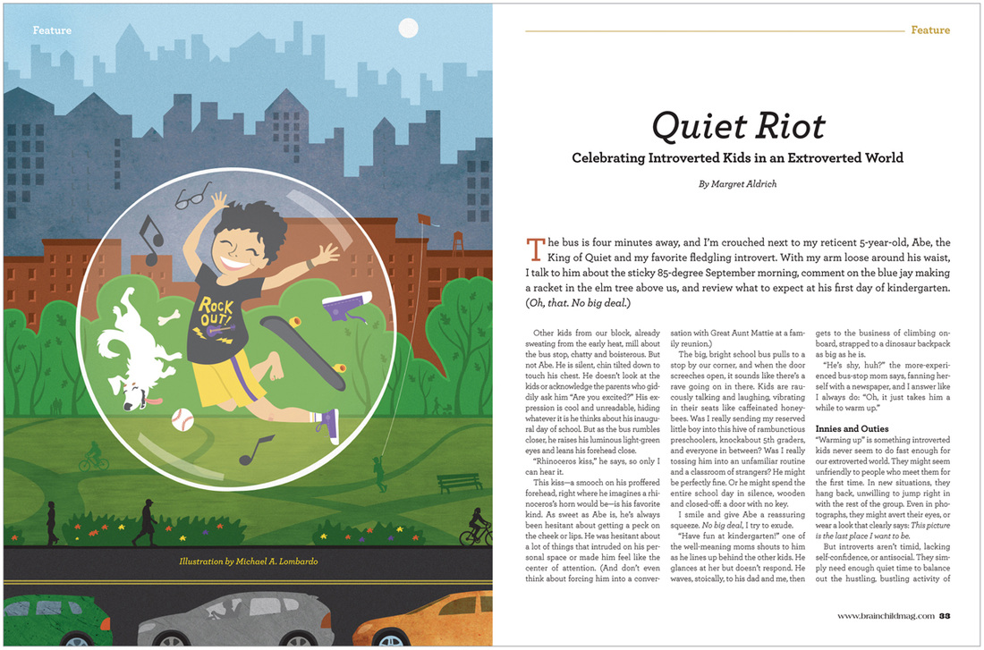 Quiet Riot Celebrating Introverted Kids >> Creative Insight News